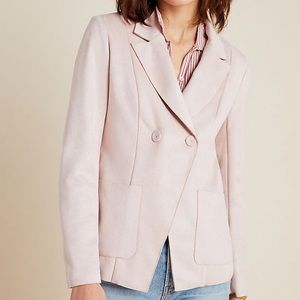 NEW Anthropologie Monarc Charli Sueded Blazer